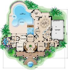 southern style house plan 5 beds 6 baths 9992 sq ft plan 27 534