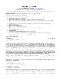 Sample In House Counsel Resume by Long Version Resume Of Steven Chase April 24 2012 Word 2007