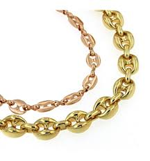 bracelet chain gold images Necklace figaro chain gold doubl or plated jewelry men women gift jpg