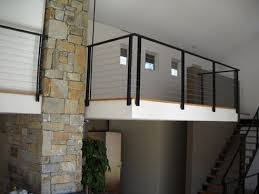 Metal Banisters Wrought Iron Rails And Stainless Steel Railings Acadia Stairs