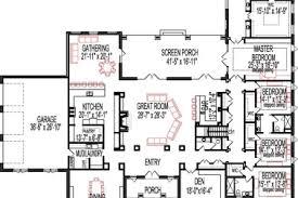 5 bedroom single house plans 14 single open floor plans 5 bedoom 653616 2