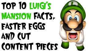 easter facts trivia top 10 luigi u0027s mansion facts easter eggs and cut content pieces