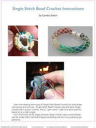 bead crochet rope bracelet images Bead crochet with single stitch ombre bracelet kit bead crochet jpg