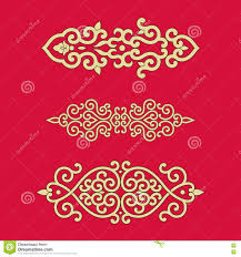 ornaments of china style stock vector image 73825171