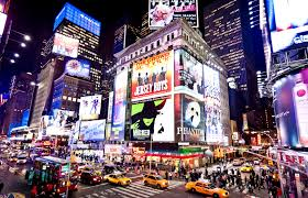 New York where to travel in january images New york january 6 illuminated facades of broadway theaters on jpg