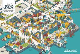 Festival Map Humber Street Sesh Saturday 5th August 2017 Hull Marina