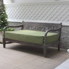 Daybed With Mattress Outdoor Daybed Mattress Cover Mold Resistant For Bazzle Me With