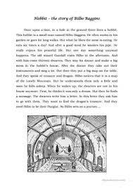 16 free esl hobbit worksheets
