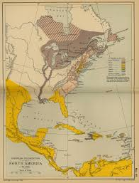 Old Map Of Mexico by European Colonization Of Americas To 1700 Spain U0027s Colonies Were