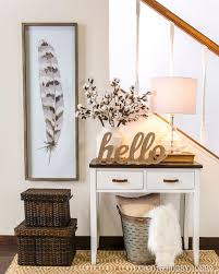 Small Benches For Foyer So Proud Of My Gallery Wall Found All Of The Decor At Hobby Lobby