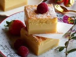 cuisine simple et rapide gâteau magique à la vanille facile et rapide recette ptitchef