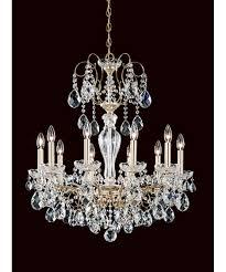 schonbek st1946 sonatina 26 inch wide 10 light chandelier