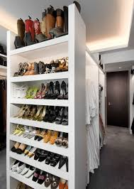 shoe rack closet transitional with closet organizers built in storage