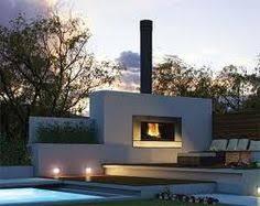 Modern Outdoor Gas Fireplace by Modern Outdoor Fireplace Storage Sheds Pinterest Modern