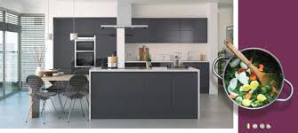lucente anthracite gloss kitchens on trend kitchen collection