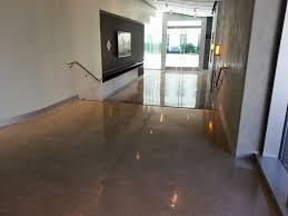 modern home interior design residential concrete flooring