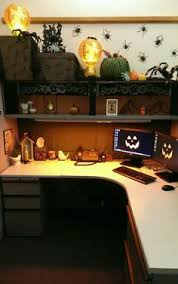 Office Halloween Decorating Contest Nosey Grinch Cubicle Decoration Holiday Decorating Contest