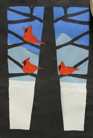 233 best cardinals images on pinterest elementary art winter
