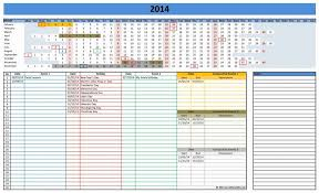 free employee and shift schedule templates excel monthly template