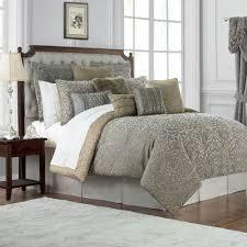 Gold Bed Set Carrick Silver Antique Gold Comforter Set