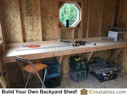 Build Your Own Work Bench Shed Plans Workbench Good To Know Pinterest Window Hinges
