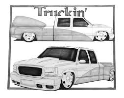 bagged truck by nathanmillercarart on deviantart