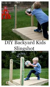 slingshot backyard fun and games