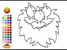 baby bird coloring pages kids baby bird coloring pages