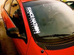 buy stay humble fun jdm stance japan performance car windshield