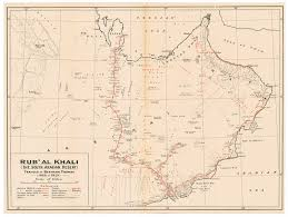rub al khali map refocused crossing the empty quarter 1