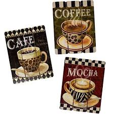 Coffee Decorations for Kitchen Amazon