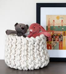 Knitting Home Decor Small Knit Basket Home Decor U0026 Lighting Mary Marie Knits