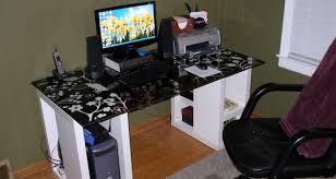 desk custom gaming desk connectedness building a gaming desktop
