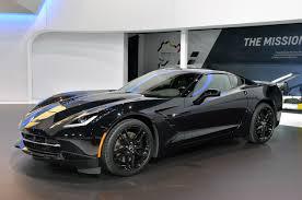 corvette zr1 black pics black widow s corvette stingray at the chicago auto