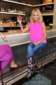 Kristin Chenoweth And Allison Williams by Kristen Chenoweth Enjoys A Cocktail At Sixtyfive Bar In New York