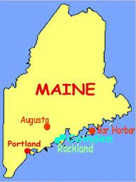 map of camden maine camden rockport rockland me hotel lodging camden rockport