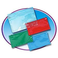 pencil pouch charles leonard pencil pouch with ziplock closure clear staples
