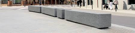 Street Furniture Benches Ub27bl Dado Bench Novatilu
