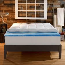 wayfair mattress sleep innovations 4 memory foam mattress topper reviews wayfair