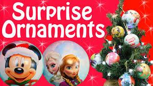 surprise toys christmas ornaments surprises frozen disney princess