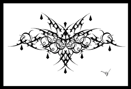 gothic lace filigree tattoo design in 2017 real photo pictures