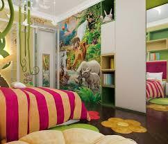 fresque murale chambre bébé design interieur fresque murale chambre enfant animaux lions