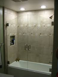 half glass shower door for bathtub i42 for your easylovely