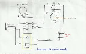 simple wiring diagram of fridge refrigerator wiring diagram