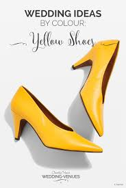 yellow wedding shoes wedding ideas by colour chwv