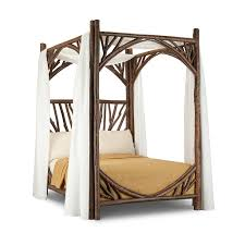 rustic canopy bed la lune collection