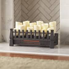 Homedepot Electric Fireplace by Pleasant Hearth 20 In Electric Fireplace Logs L 24 The Home Depot
