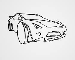 sports car drawing using 3d to help sketching a mini tutorial icecalibre