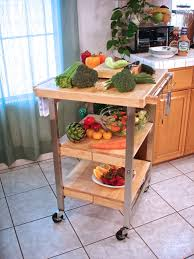 Folding Island Kitchen Cart by Oasis Concepts Folding Bbq Island
