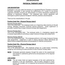 Dietary Aide Resume Physical Therapy Aide Resume Free Resume Example And Writing